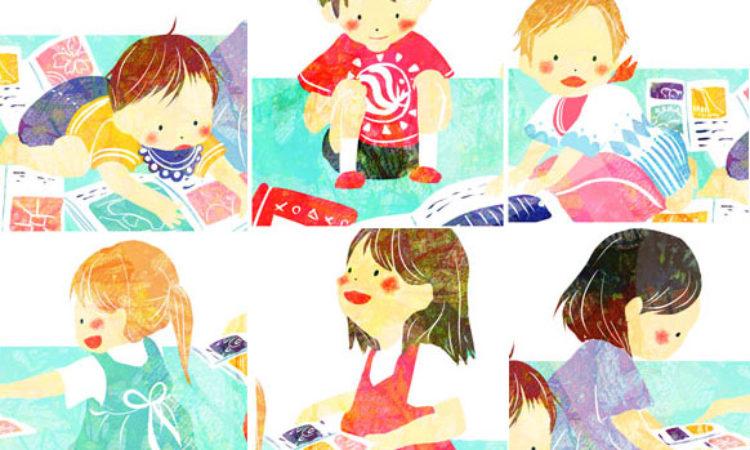 幼稚園のHPのイラスト