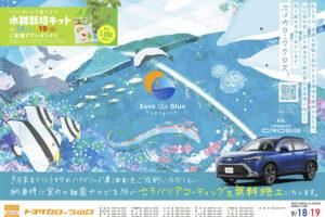 Save the Blue Yamaguchi第2段(トヨタカローラ山口株式会社様)